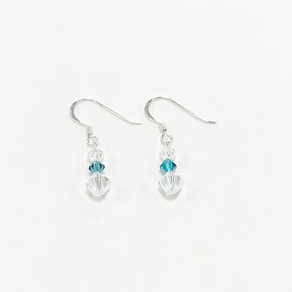 Swarovski Short Earrings (Design 2)