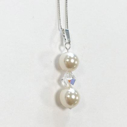 Swarovski Pearl Duo Pendant