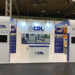 Computer Disposals Ltd Exhibition Stand