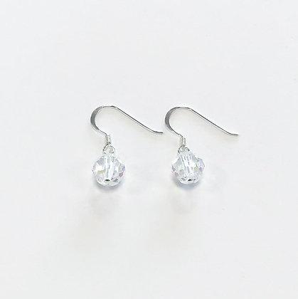 Swarovski Round Short Earrings