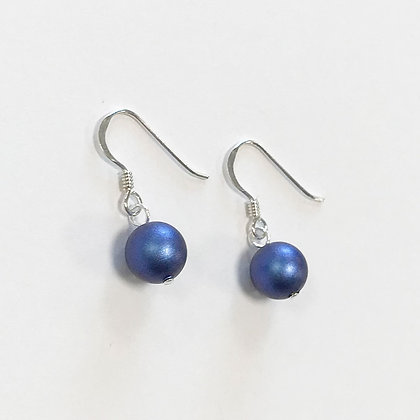 Swarovski Pearl Short Earrings