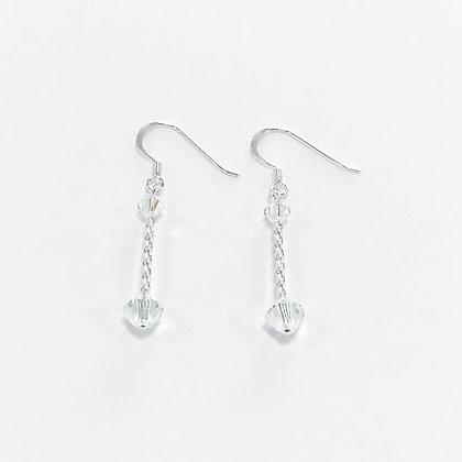 Swarovski Twist Cylinder Earrings