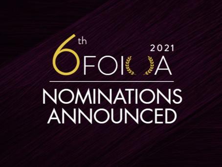 6thFOIOA 2021 Nominations Announced!