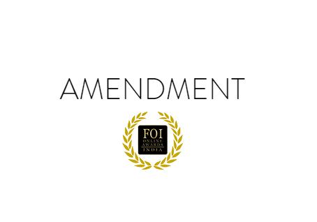 FOIOA revises Jury-Public Voting Weight-age