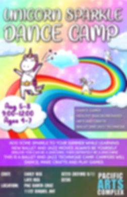 Unicorn  Sparkle Dance Camp 2019 Santa C