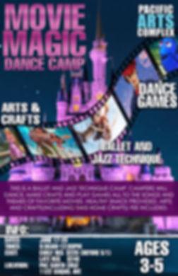 Movie Magic Camp Poster 2019 Santa Cruz