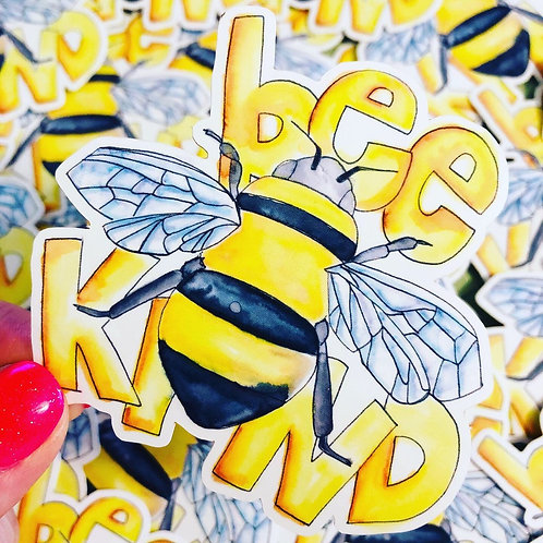 Bee Kind - Vinyl Sticker
