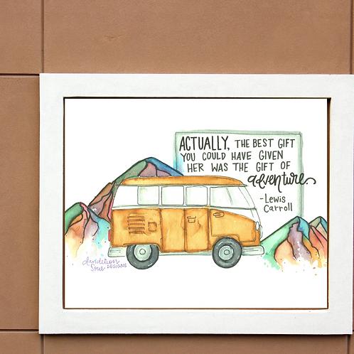 Gift Of Adventure - Art Print