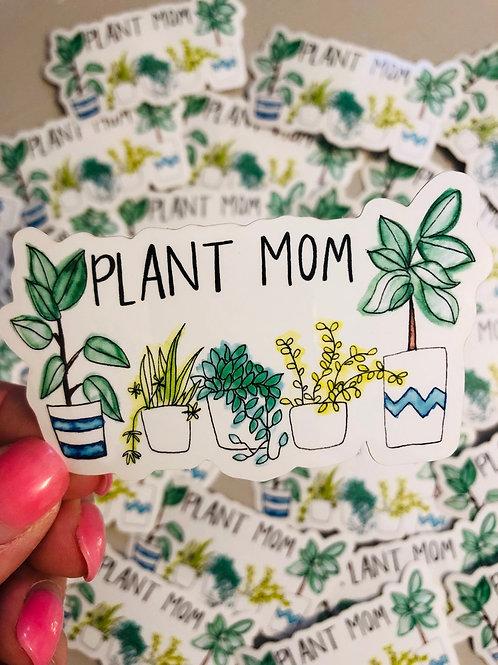 Plant Mom - Vinyl Sticker