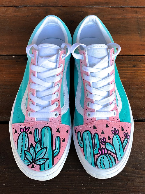 Custom Van Old Skool Lace Ups