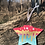 Thumbnail: Hand painted acrylic ornament -  Lisa Frank