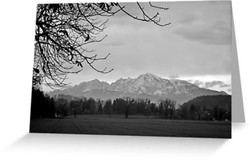 Autumn View of the Alps