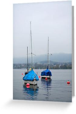 Misty Day on Lake Zurich
