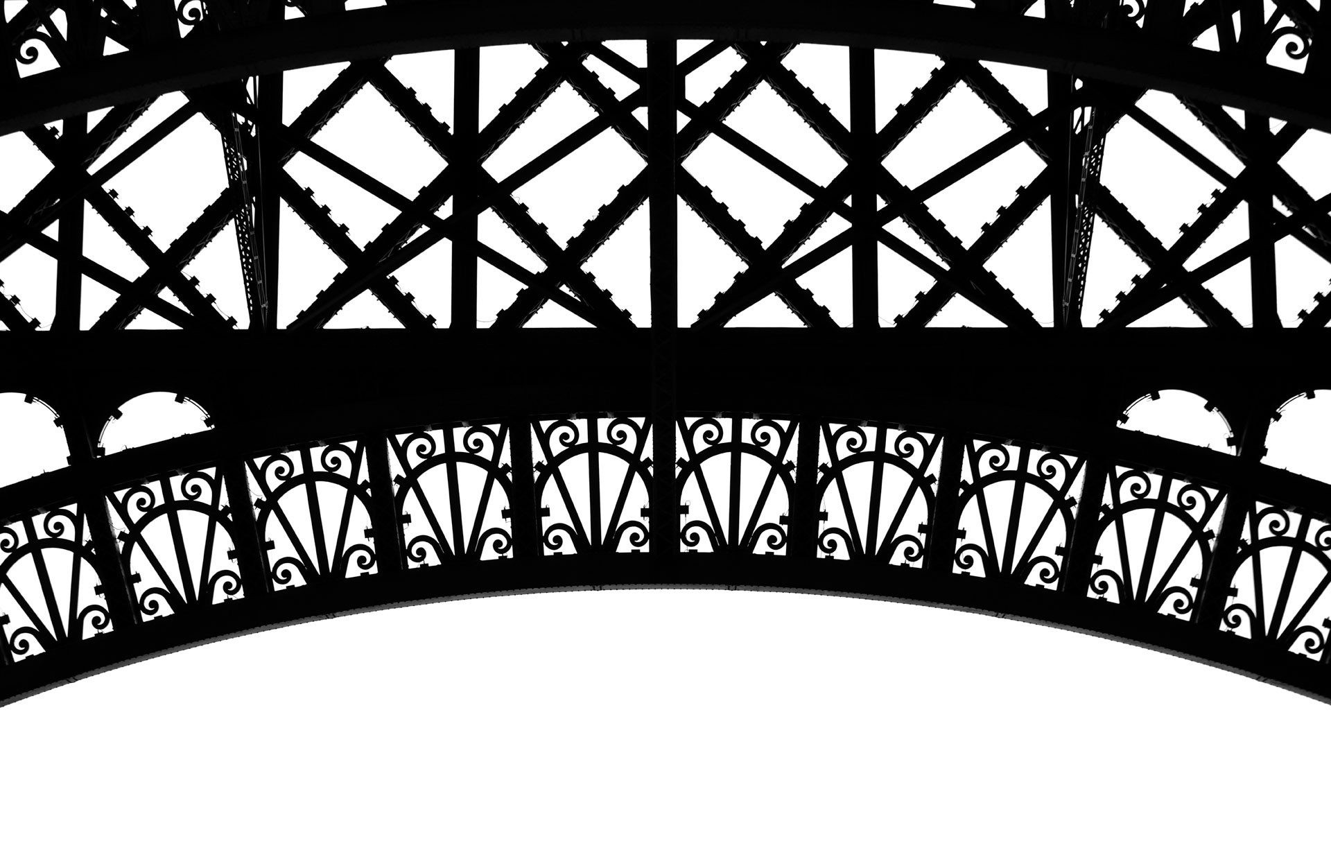 Ironwork, Eiffel Tower