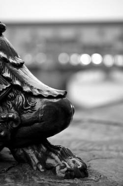 Lamp Post Detail, Florence