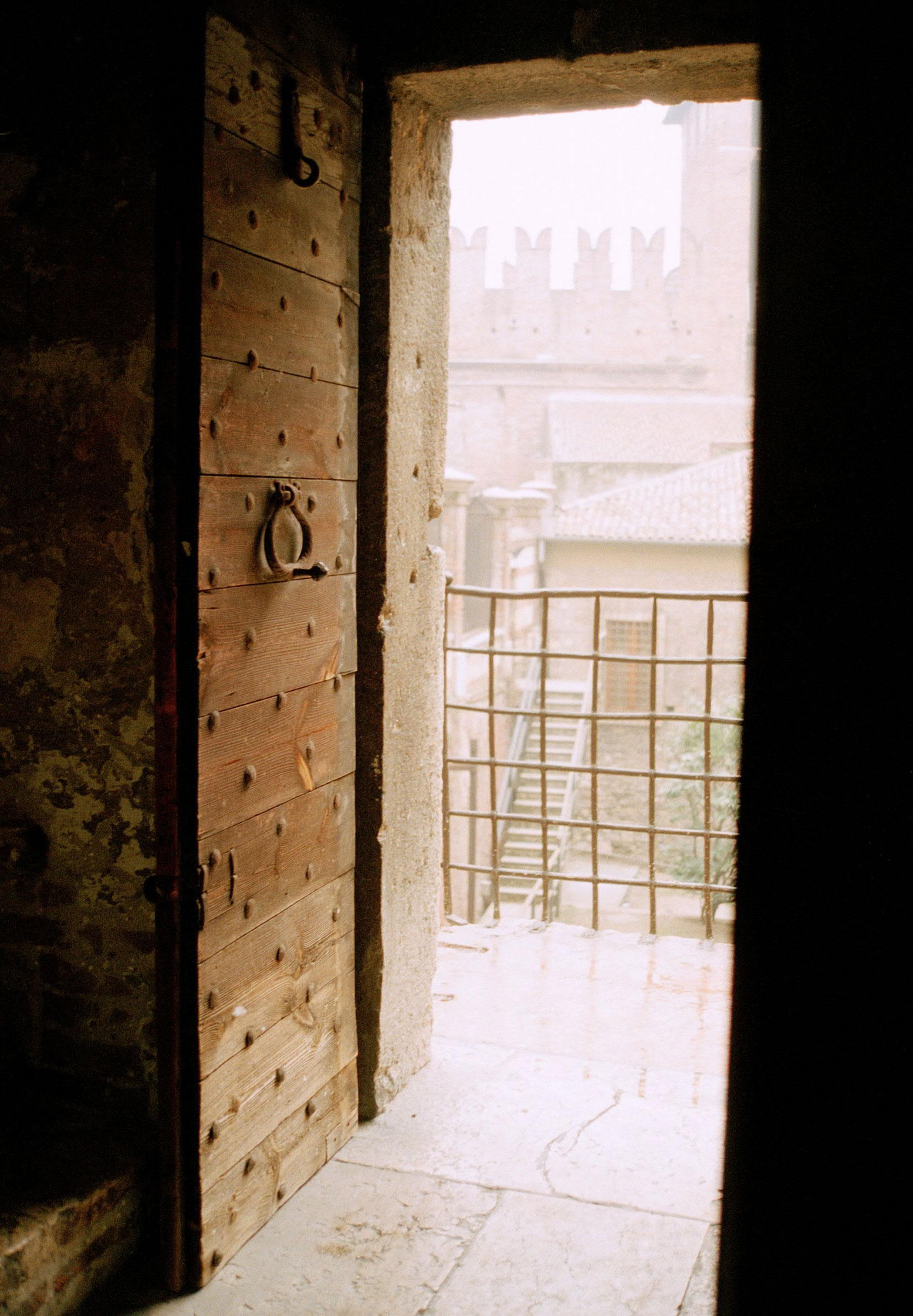 Door, Castelvecchio, Verona