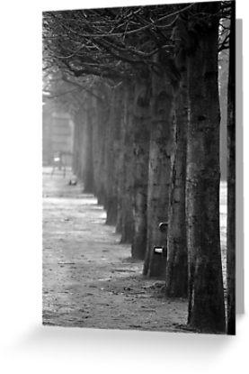 Misty Tuileries