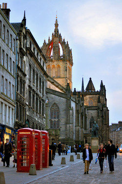 Evening Stroll on the Royal Mile