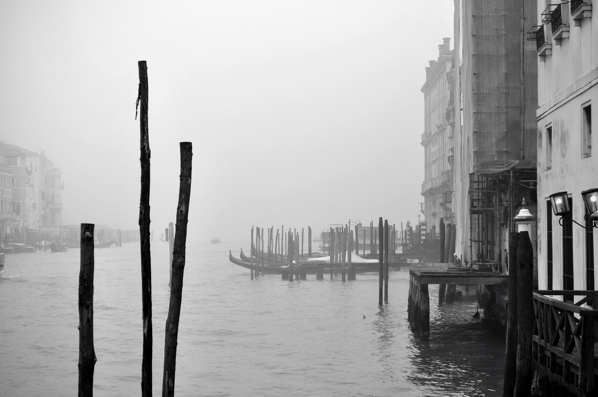 A Foggy Day in Venice