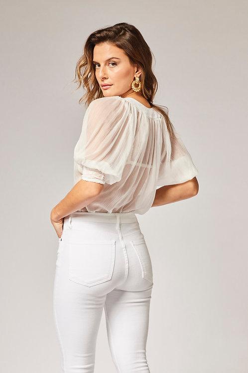 Costas da camisa beth off white les cloches