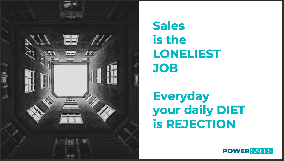 Sales is the Loneliest Job