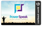 PowerSpeak Launches the Cashback Card