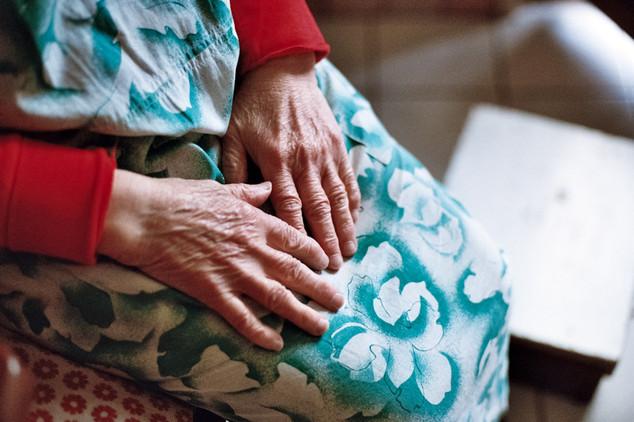 My grandmother Dolores' precious hands, Saint-Martin-Le-Vinoux, France