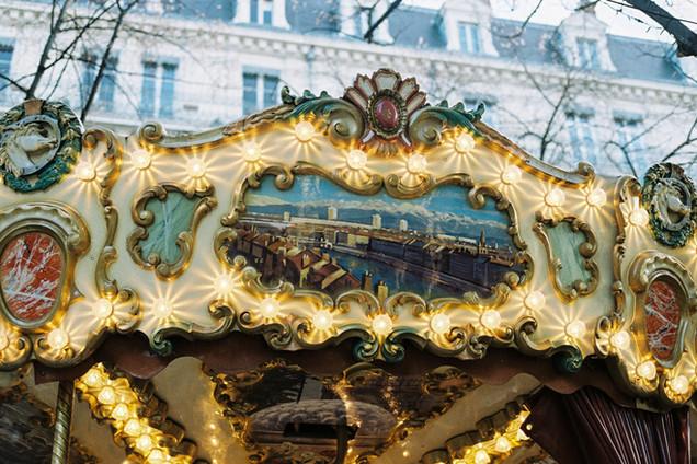 Carousel, Place Grenette, Grenoble, France