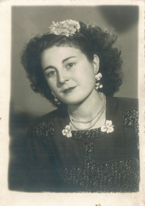 My grandmother Dolores, Los Blazquez, Spain, 1949