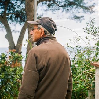 My grandfather Eusebio, Costa Brava, Spain