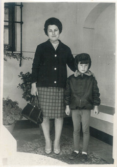 My mum and my grandmother Dolores, Los Blazquez, Spain, early 1960's