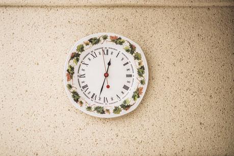 My maternal grandparents' kitchen clock, Saint-Martin-Le-Vinoux, France