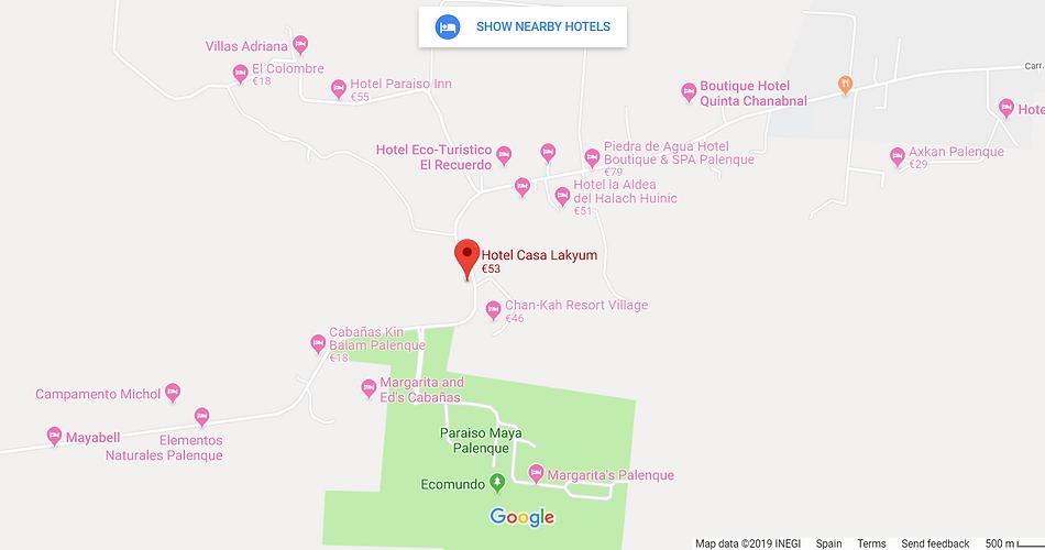 Hotels near Casa Lakyum.png