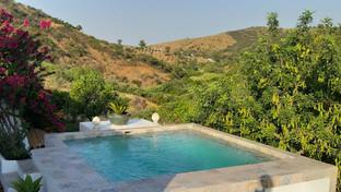 Our wonderful salt-water pool