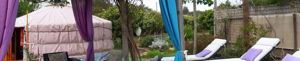 Deck & Yurt