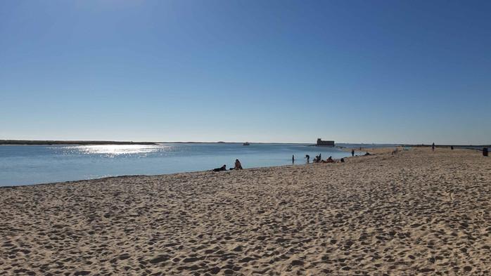 Fuseta Beach ~ one of our locals