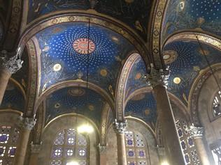 Portuguese Church Ceiling