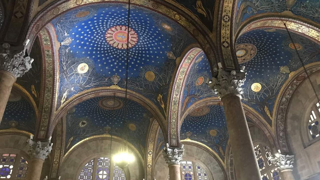 Tavira church ceiling