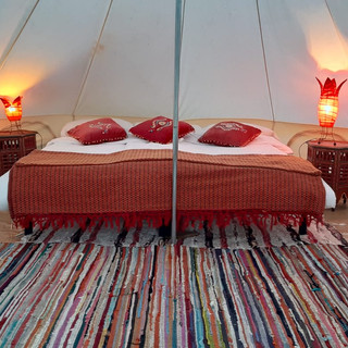 The tent for a couple