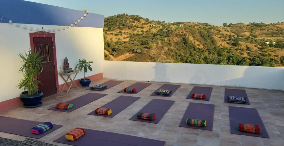 Our Yoga-Qigong Terrace
