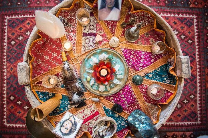 Meditation Altar
