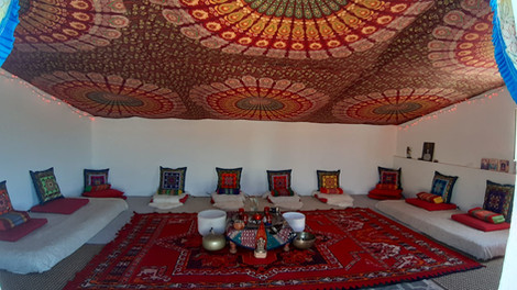 Our Sacred Space - the Meditation Room