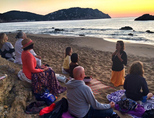 Sunrise Meditation at Aguas Blancas