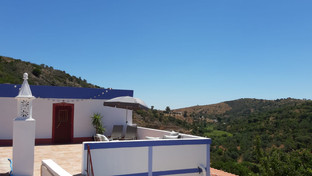View across to the first terrace