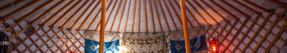 Yurt for 2 singles