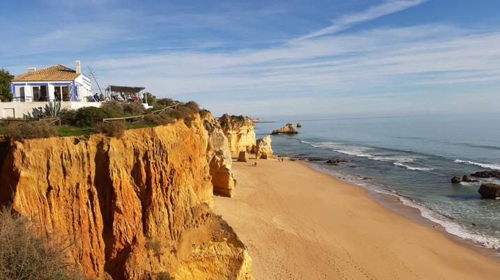 Algarve beaches ...