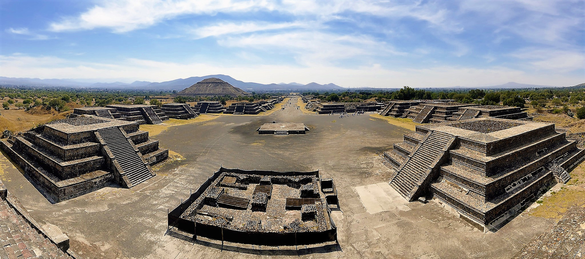 The Temple alignments in Teotihuacan