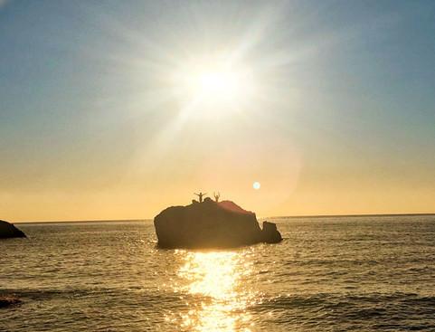 Sunrise at Aguas Blancas