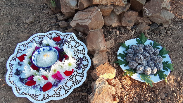 Despacho (offering) to the Nature Spirits