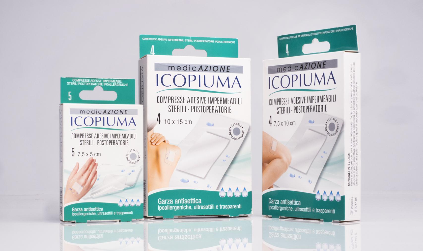 Icopiuma medicazione